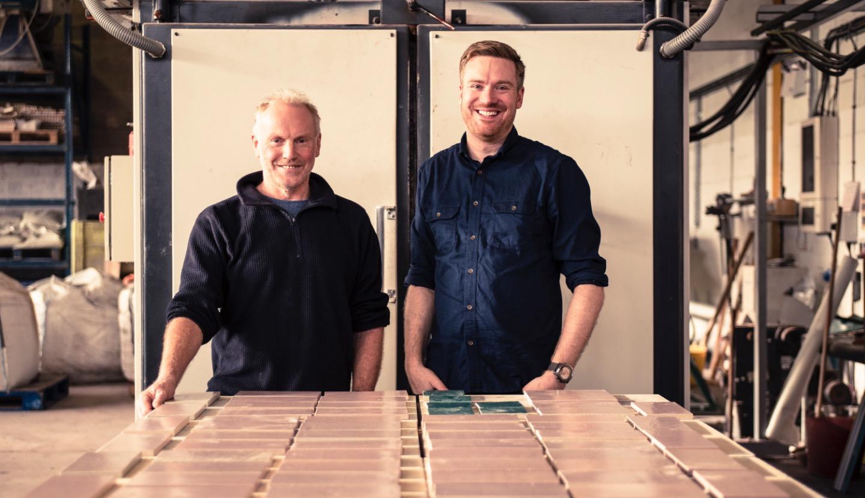 Alusid Factory Alasdair And David